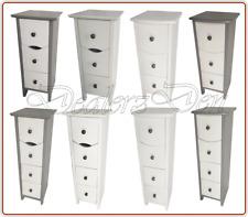 Bathroom Kitchen Storage Cabinet Furniture Drawer Cupboard Solid Wood Chest Unit