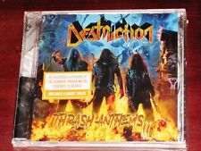 Destruction: Thrash Anthems II CD 2017 2 Nuclear Blast Records USA NB 4127-2 NEW
