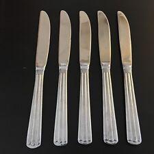 Wallace CENTENNIAL Five 5 Dinner Knives Stainless Flatware 18/10