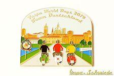 """Metall-Plakette """"Vespa World Days 2014 - Team Deutschland"""" - 100 Stk weltweit! G"""