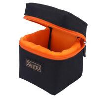 Lightweight Waterproof Shockproof DSLR Camera Lens Bag Pouch Storage Case BT