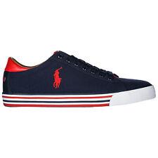 Polo RALPH LAUREN Zapatillas Hombre Zapatos de detalle logotipo Harvey 8161907580GB Azul Marino