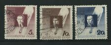 Russia 1934 Stratosphere perf 11 sg.659-61 used set of 3