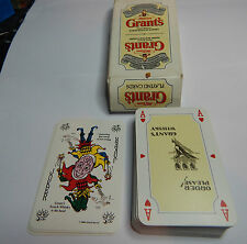 Grants Whisky advertising playing cards