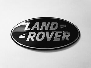 OE LAND ROVER FREELANDER 2 104 105MM BLACK GRILLE OR BOOT BADGE DISCOVERY 4