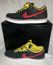 NIKE Dunk Low 6.0 Hemp Size 10 JOURNEYS Rasta Black/Red/Green/Yellow Jamaica 420