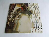 Miles Davis The Man With The Horn LP 1981 Columbia Bill Evans Vinyl Record