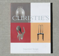 Christies Mid Century Modern Design Eames Panton Nelson Colombo Pesce 1950s 60s