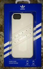 NIB ADIDAS ORIGINALS Hard Case Cellphone Cover iPhone 5 5S White or Green