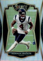 2020 Select Silver Prizm #127 DESHAUN WATSON  Premier Level Houston Texans