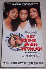 Eat Drink Man Woman VHS Video Sihung Lung Kuei-Mei Yang