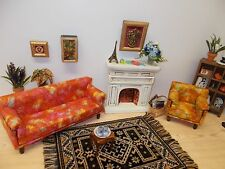Handcrafted Barbie Doll Bear Fashion Royalty OOAK Miniature Dollhouse Furniture