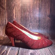 Ruby Red Slippers Size 7B