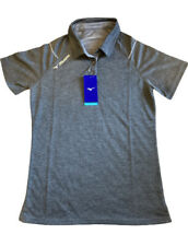 New listing NWT Mizuno Women's Volleyball Polo Charcoal Size Small