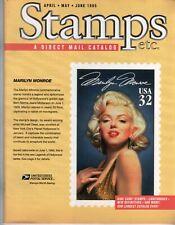1995 Marilyn Monroe Stamps Etc catalog Usa P 00004000 hilatelic postage Norma Jeane Usps