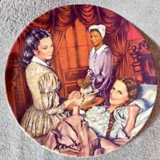 Gone With The Wind Collection Plate - Melanie Gives Birth - Lot Plate
