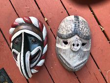 New listing 2 Vintage 1900 Or Earlier Greenlandic Indian Masks - ?