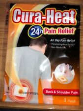 5 x Cura Heat Pads Back & Shoulder Pain Heat Packs 24 Hour Warming Relief
