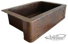Ariellina Farmhouse 14 Gauge Copper Kitchen Sink Lifetime Warranty New AC1807