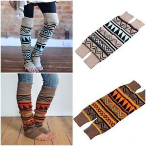 Women Cable Knit Boho Long Boot Socks Over Knee Thigh High Warm Stocking Legwarm