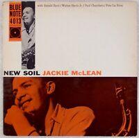 JACKIE McLEAN: New Soil US Blue Note 4013 W63rd EAR Jazz Donald Byrd LP Hear