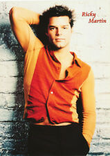 POSTER: SINGER: RICKY MARTIN - ORANGE SHIRT  - FREE SHIPPING !  #LPO577   RC32 J