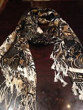 Nemesis Vintage Style Paisley Pashmina Scarf Wrap