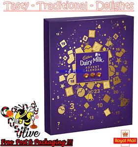Cadbury Dairy Milk Chunk Chocolate Advent Calendar Xmas Christmas Fun Kids 263g