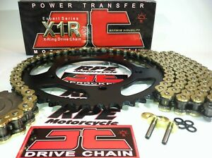 Suzuki DRZ400 DRZ400e 2000-07 JT Premium X-Ring Chain and Sprockets Kit