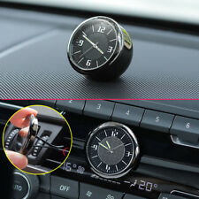 Metal Glossy Car Front Dashboard Air Vent Clock Time Reminder Accessories Parts