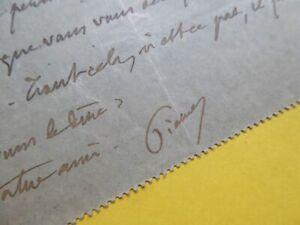 Pierre LOTI (1850-1923) Académie FRANCAISE. Autographe à CATULLE MENDES Jane