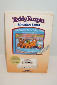 Teddy Ruxpin Book Tape Sealed NIB 1986 Water Safety Learn Swim Worlds  Of Wonder