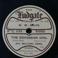 78 tr/min Spa Fanfare militaire Bohème fille Overture/le cœur Bow 'D Down