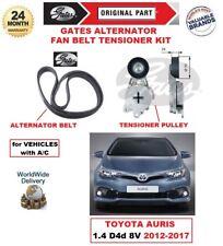 Gates Courroie Ventilateur Alternateur Kit Tendeur pour Toyota Auris 1.4 D4d 8V