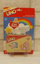 UNO Card Game Care Bears Special Edition in Deluxe Collector's Tin Lunchbox New!