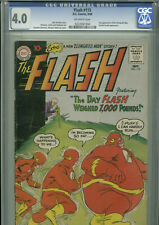 Flash #115 - September, 1960 - CGC 4.0 (2nd appearance of Elongated Man)