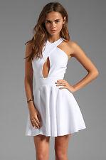 NAVEN Criss Cross Vixen Dress White