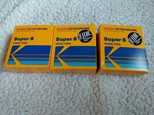 Kodak Ektachrome Super 8mm Film 100D 7294 Color Reversal film New Stock Price Ea