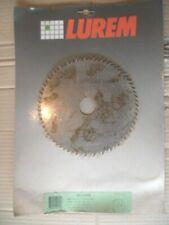 LUREM : Lame de Scie Circulaire Neuve 180 mm AL. 30 mm Ep. 2 mm Denture Isocèle.