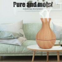 Aroma Essential Mist Diffuser Air Humidifier Purifier Aromatherapy LED Light