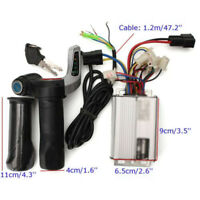 48V 1000W Electric Bike Motor Scooter Speed Controller With Throttle Grips Set