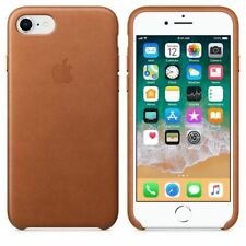 Case Genuine Apple Leather for iPhone 7, 8 - BROWN MMY22ZM/A