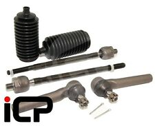 Inner, Outer Track Tie Rod Ends & Boots Fits: Subaru Impreza Turbo 01-07 WRX STi