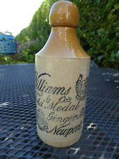 Williams Newport Ginger Beer Bottle Gold Star