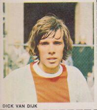1-0 Foto Galerij 1970-1971 card/sticker Ajax Amsterdam - Dick van Dijk