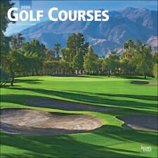 Golf Courses Kalender 2020 quadratisch 30 x 30 cm