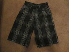 Burnside Black & Gray Striped Cargo Shorts 14