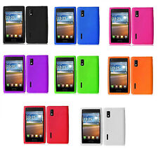 LG Optimus L5 E617 E617G / Extreme L40G Rubber Silicone Case phone Cover