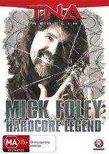 TNA Wrestling Mick Foley Hardcore Legend (DVD, 2011) NEW/SEALED [Region 4]