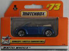 Matchbox – VW Concept 1 Cabrio blaumetallic Neu/OVP
